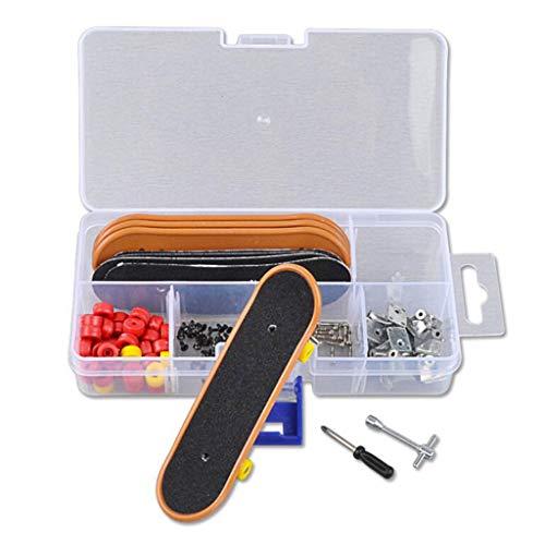 Haorw 5 Stück Mini Skateboard Finger Assemble Teile Kit, Kinderspielzeug Und Geschenk