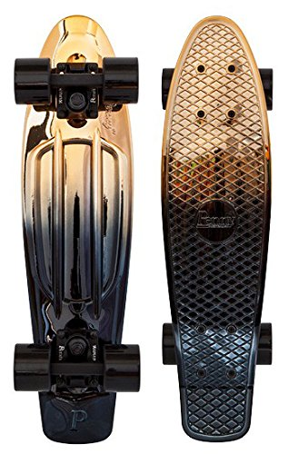 Cruiser Complete Penny Skateboards Metallic 22' Black Gold Complete