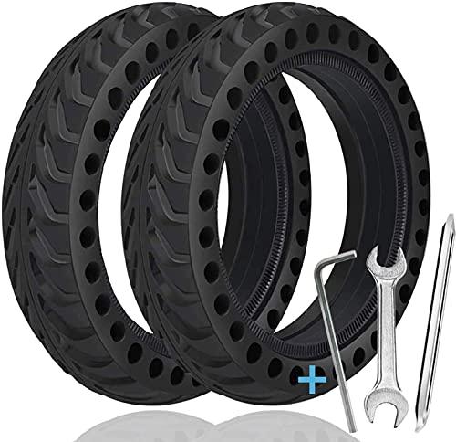 TOPOWN 2 pcs Reifen Solide Xiaomi M365 8.5 Zoll Mit 3 Montagewerkzeug Reifen Vollgummi Für Xiaomi Mijia Elektro-Fahrrad-Skateboard Reifen Felge m365 Xiaomi Reifen
