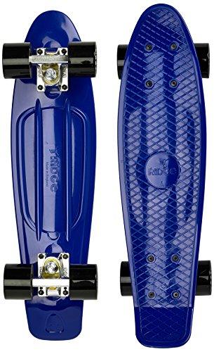 Ridge 22' Organics Range Skateboard, Yves Blau/Schwarz, Zoll
